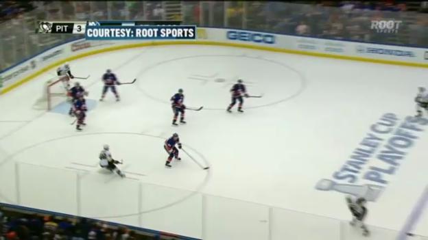 Video «Highlights Islanders - Pittsburgh» abspielen