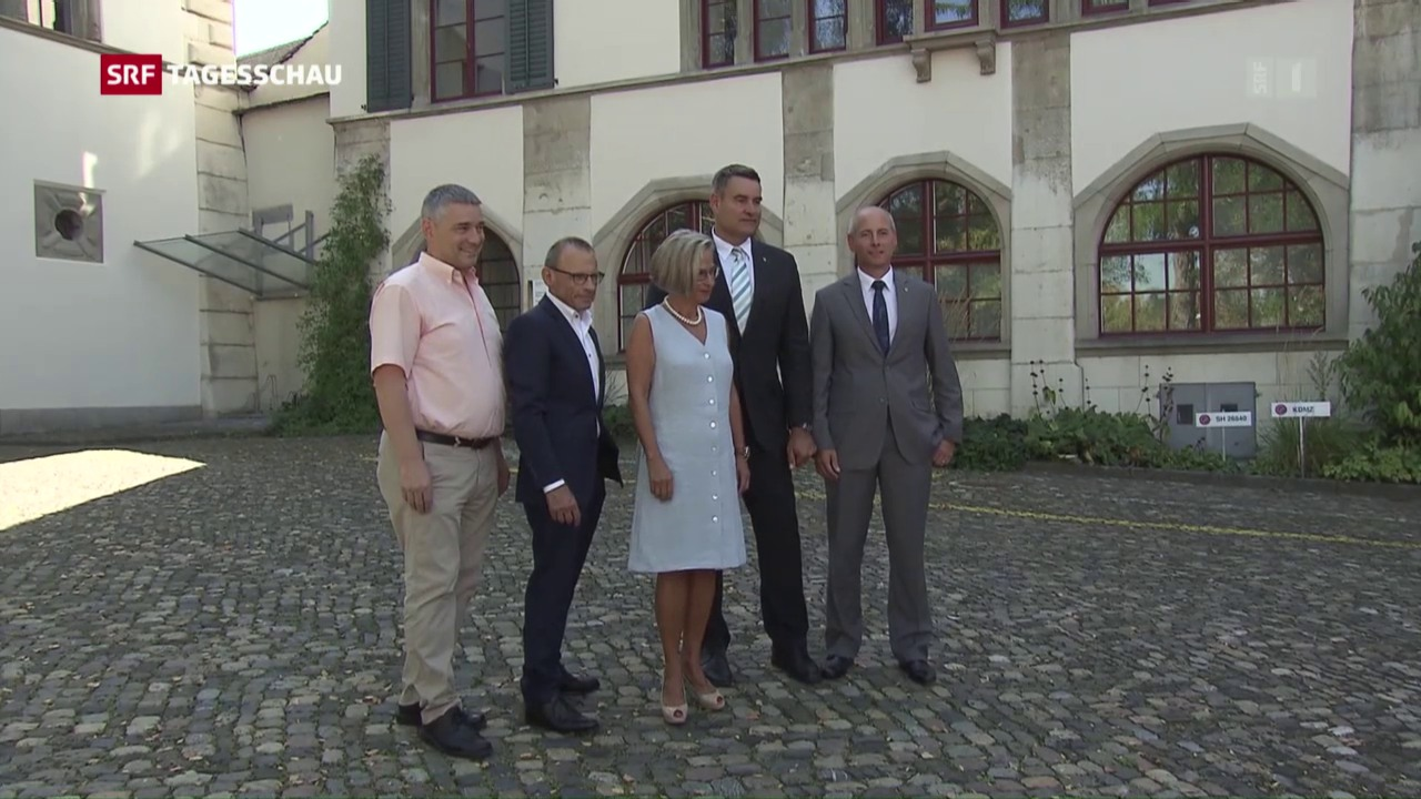 Regierungswahlen in Schaffhausen