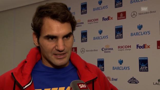 Video «Roger Federer im Interview» abspielen