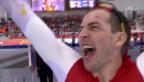 Video «Eisschnelllauf: Zusammenfassung 1500 m Männer (15.02.2014)» abspielen
