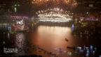 Video «Sydney feiert schon (unkommentiert)» abspielen