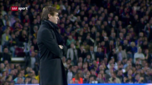Video «Fussball: Rücktritt von Vilanova» abspielen