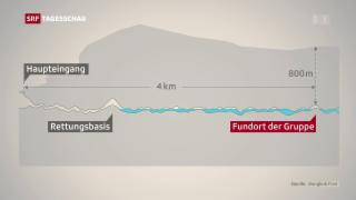 Video «Bangen um Eingeschlossene in thailändischer Höhle» abspielen