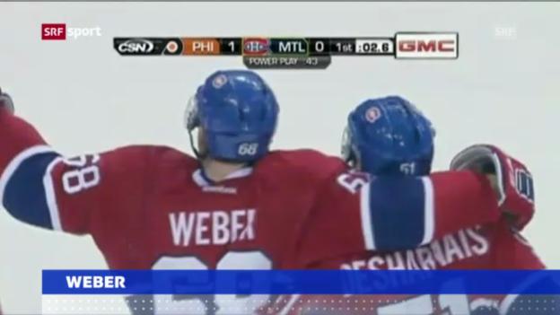 Video «NHL: Weber muss Montreal verlassen («sportaktuell»)» abspielen
