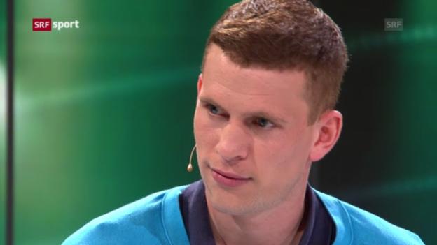 Video «Fabian Frei über seine Position und seine Rolle im Team» abspielen