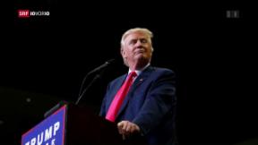 Video «Verhindert sich Trump selbst? » abspielen