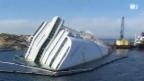 Video «Costa Concordia: Zerlegen oder abschleppen?» abspielen