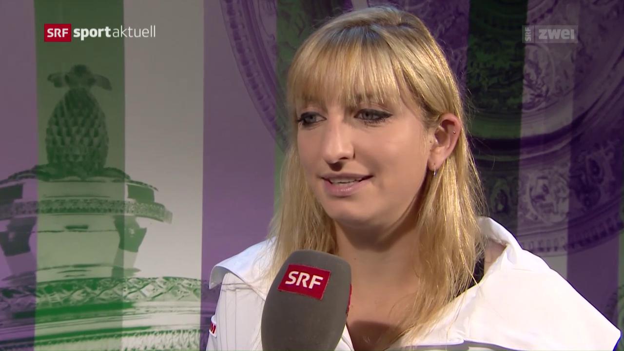 Tennis: Timea Bacsinszky in Runde 3