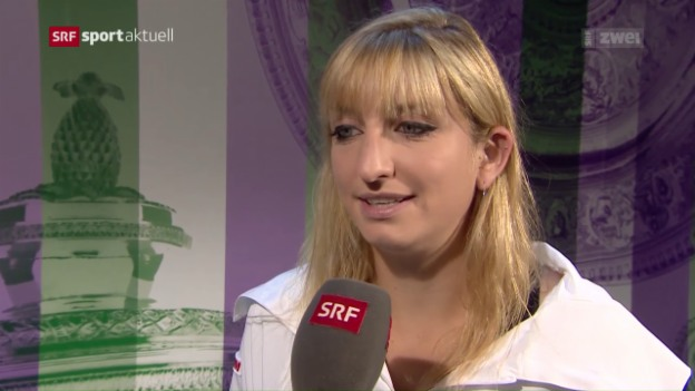 Video «Tennis: Timea Bacsinszky in Runde 3» abspielen