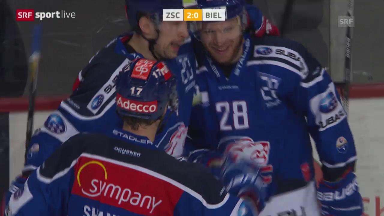 Eishockey: Playoff, 1/4, Game 5, ZSC-Biel
