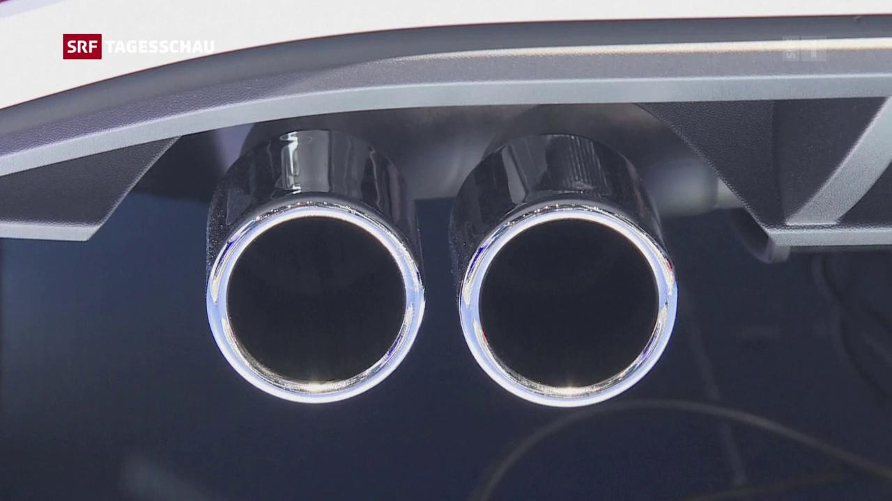 Unzulässiges Abgassystem bei Porsche