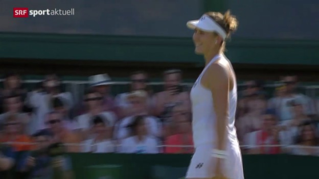 Video «Tennis: Wimbledon, Bencic - Friedsam» abspielen
