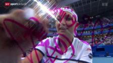 Video «Tennis: WTA-Turnier in Peking, Baczinsky - Ivanovic» abspielen