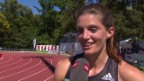Video «Lea Sprunger: «Ich wusste, dass ich schnell bin»» abspielen