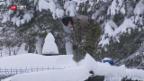 Video «Schneemassen in Graubünden» abspielen