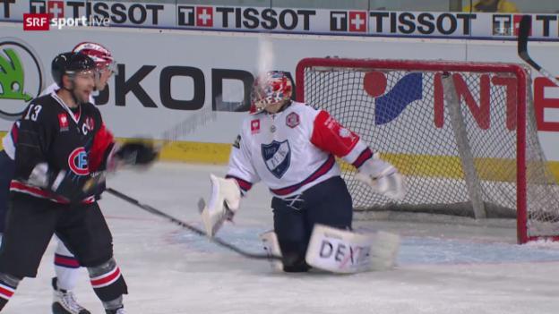 Video «Eishockey: CHL, Freiburg-Helsinki» abspielen