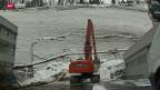 Video «Evakuierung wegen Felsturzgefahr» abspielen