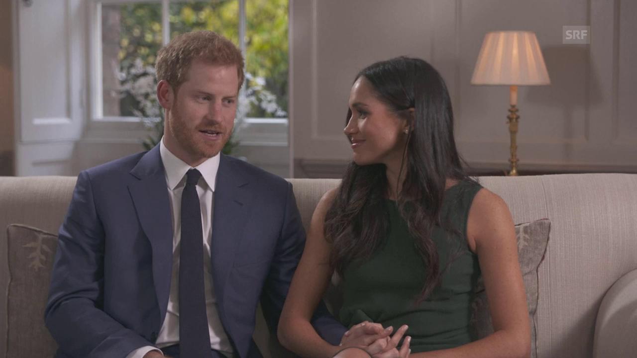 Harry und Meghan: Ihr erstes TV-Interview (englischer Originalton)