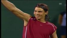 Video «Das 1. Duell Federer-Nadal in Miami 2004» abspielen