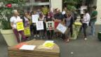 Video ««Le Matin»-Streik unterbrochen» abspielen