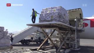 Video «Blockade gelockert: Hilfsgüter kommen wieder in den Jemen » abspielen