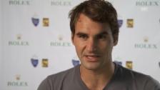 Video «Tennis: Interview mit Roger Federer (englisch)» abspielen