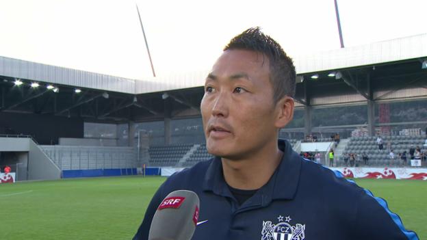 Video «FCZ-TrainerTsawa: «Fussball-Gott war nicht auf unserer Seite»» abspielen