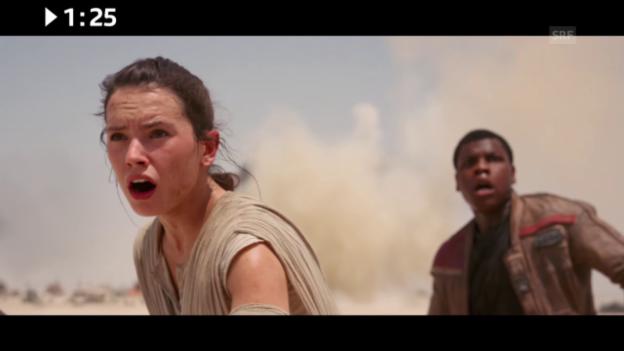 Video «Im Kino: «Star Wars: The Force Awakens»» abspielen
