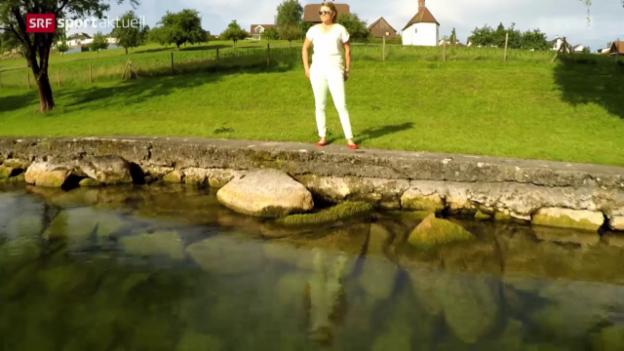 Video «Golf: Porträt Fabienne In-Albon» abspielen