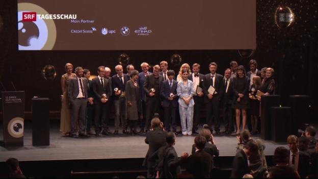 Video «Die 12. Ausgabe des Zurich Film Festival geht zu Ende» abspielen