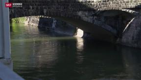 Video «Warten auf Hochwasserschutz» abspielen