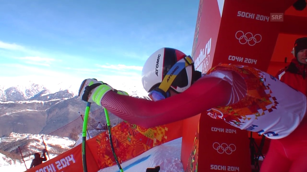 Ski, Männer-Abfahrt, Training, Fahrt Janka
