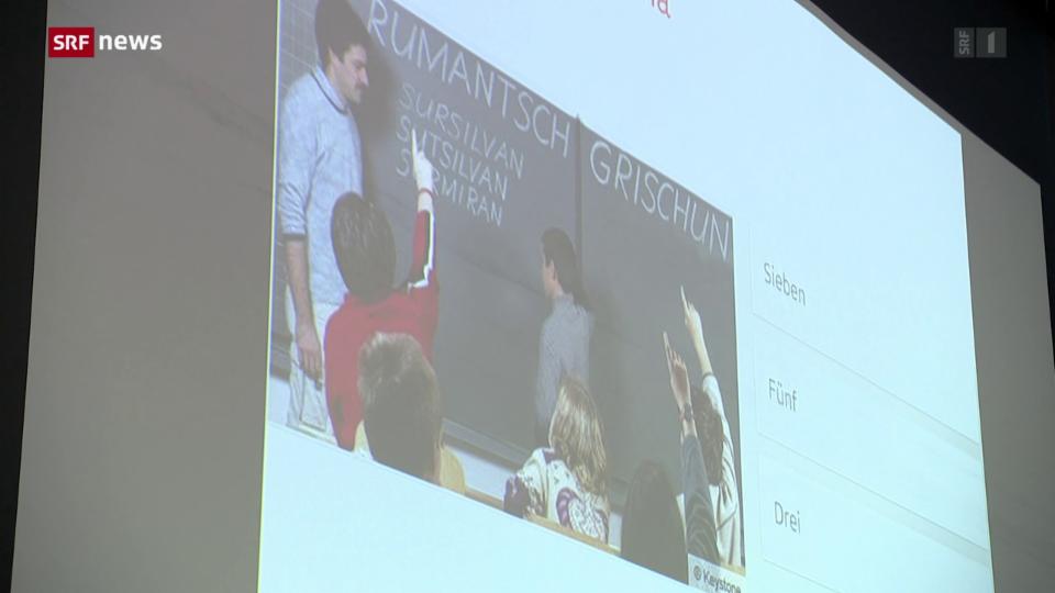 Rumantsch an Schulen als Onlinekurs