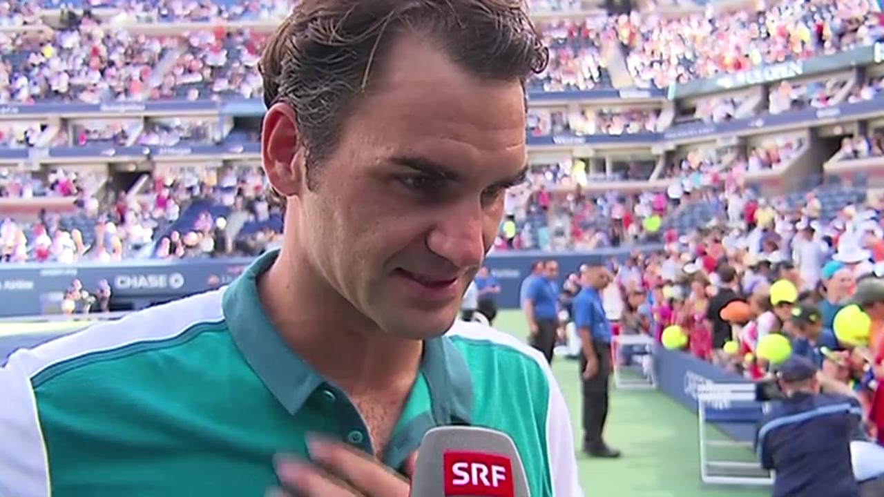 Tennis: US Open 2015, 3. Runde, Federer - Kohlschreiber
