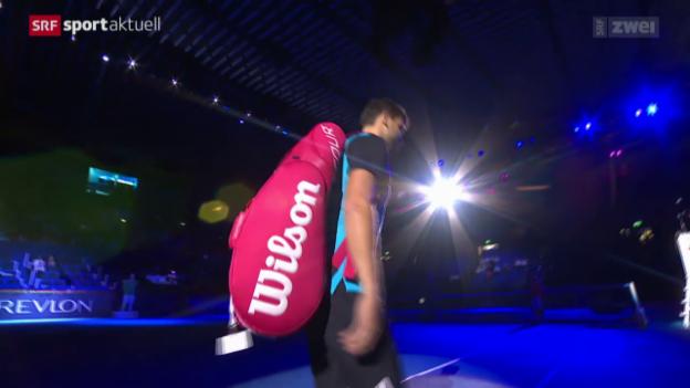 Video «Tennis: Swiss Indoors, Stachowski - Dimitrow» abspielen