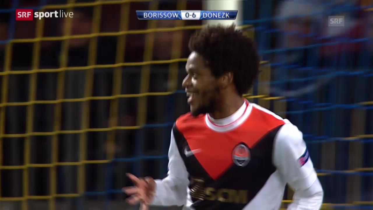 Fussball: Champions-League, BATE Borissow - Schachtjor Donezk