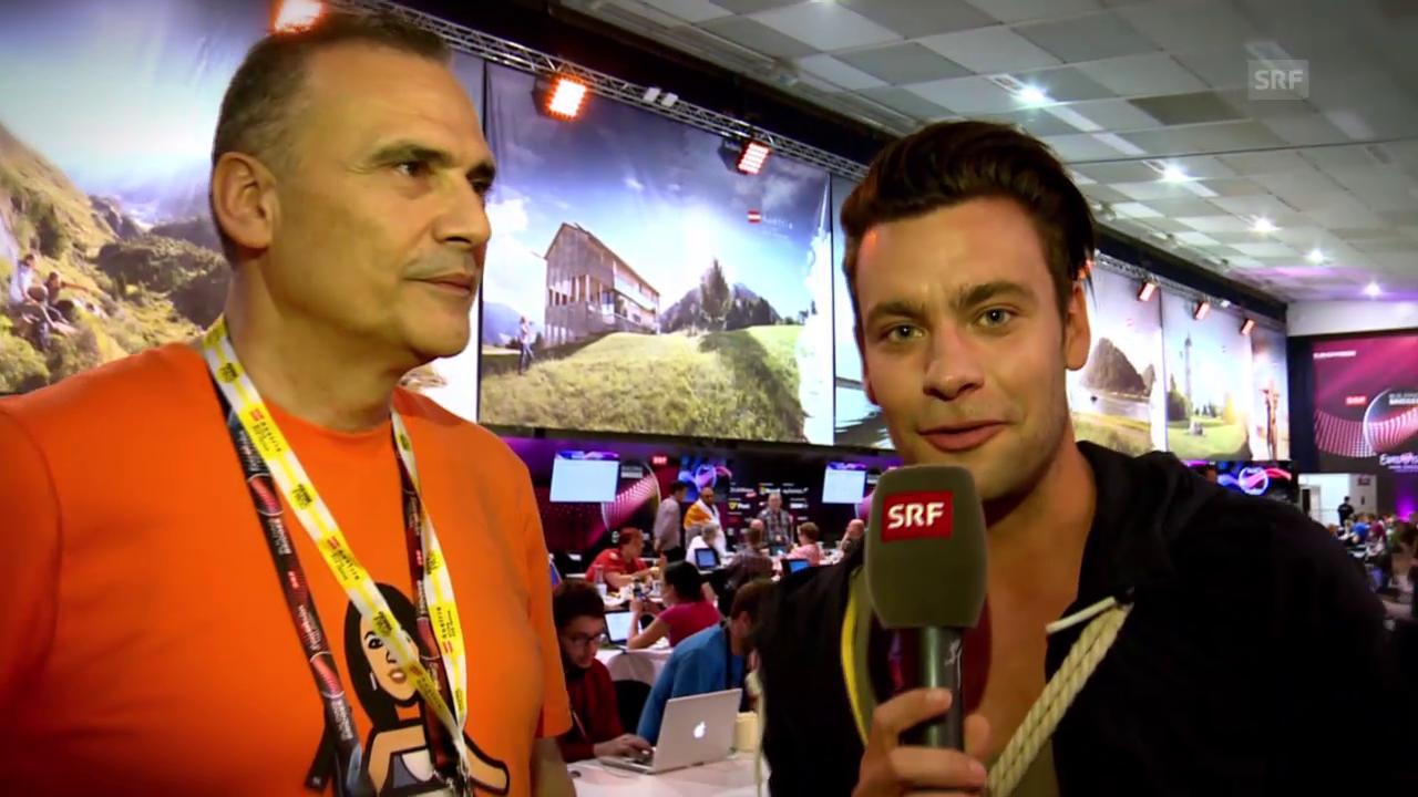 Michel in Wien: Der ESC-Fanclub