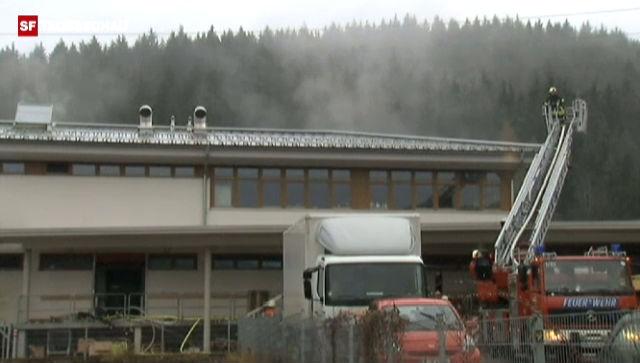 Tote bei Brand in Behindertenwerkstatt im Schwarzwald