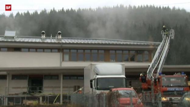 Video «Tote bei Brand in Behindertenwerkstatt im Schwarzwald» abspielen