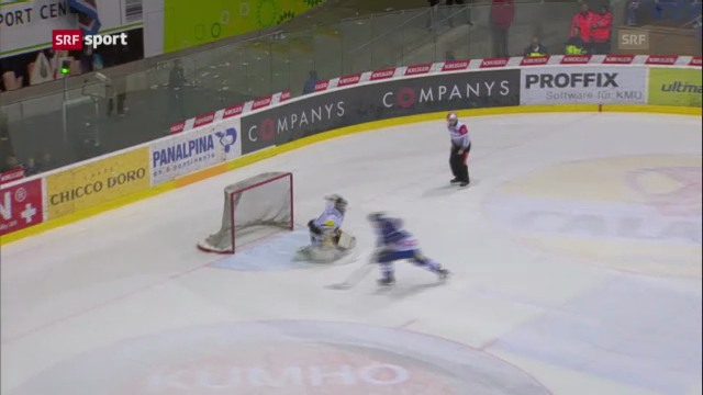 Eishockey: Kloten Flyers - EV Zug