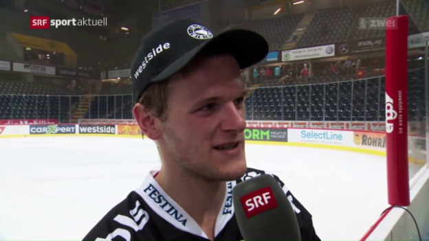 Video «SCB-Goalie Leonardo Genoni im Interview» abspielen