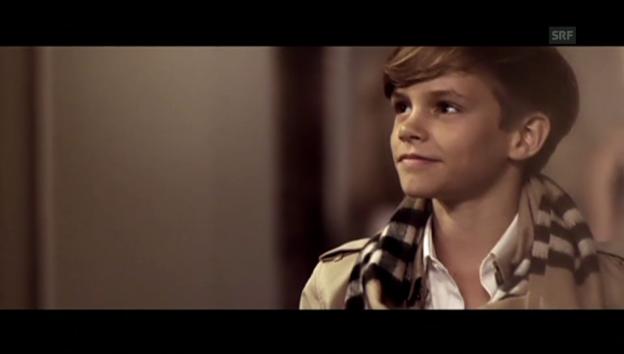 Video «Romeo Beckham als Model» abspielen
