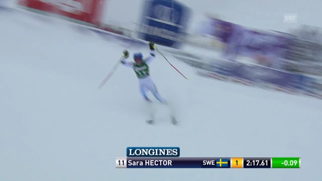 Ski Alpin: Weltcup Kühtai, Riesenslalom, 2. Sara Hector