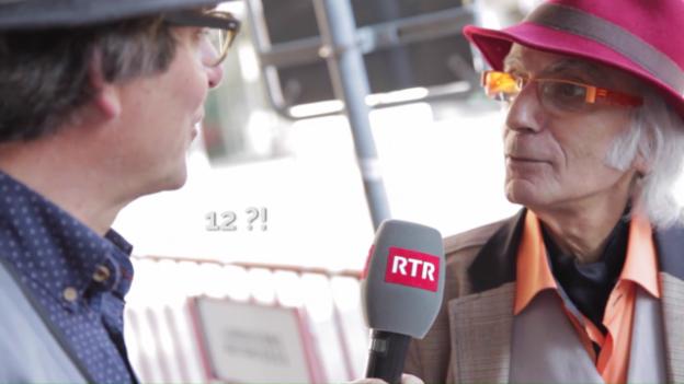 Laschar ir video «Ils Romands èn arrogants»