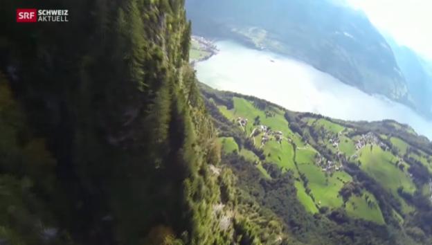 Video «Wingsuit-Unfall in Walenstadt SG: «Verband muss Grenzen setzen»» abspielen