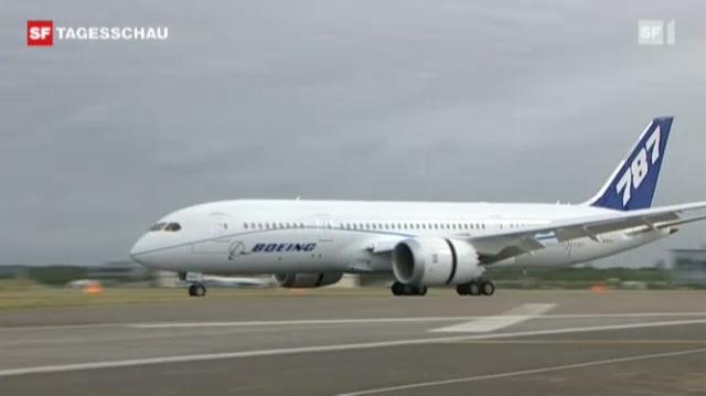 Neue Riesen-Boeing «Dreamliner »