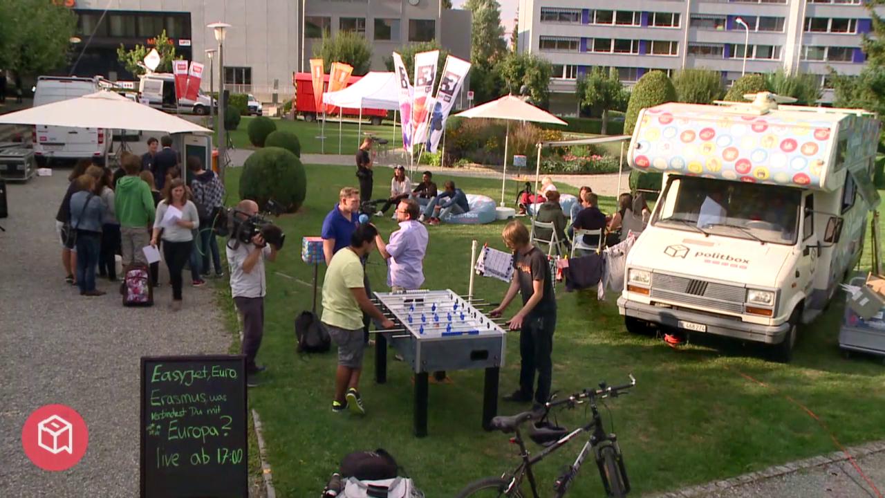 politbox on tour #12: Live-Sendung aus Kreuzlingen