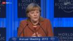 Video «Angela Merkel über den Zeitpunkt von Reformen» abspielen