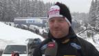 Video «Peter: «Waren von anderen Rennen verwöhnt»» abspielen
