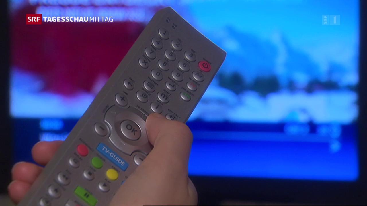 Serafe übernimmt Inkasso der Radio- und TV-Gebühren